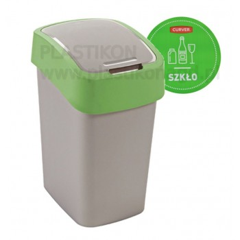zielony FLIP BIN kosz 10L...